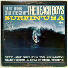 Vinyl Album Surfin' U.S.A. Beach Boys Capitol SM-1890