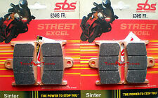 Pastiglie Anter. SBS HS Sinter Per TRIUMPH TIGER EXPLORER 1200 2012 12  (624 HS)