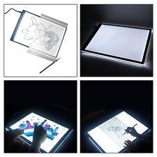 LED Tracing Light Box Board Artist Tattoo A4 Drawing Pad Table Stencil Display