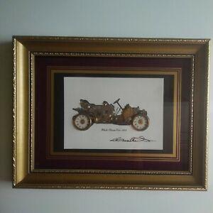 Bild Installation Uhrenteile Ken Broadbent White Steam Car 1908