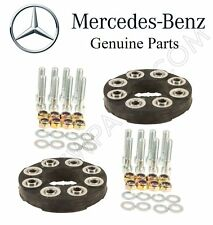 For Mercedes W124 W140 C215 R129 Set of Two Drive Shaft Flex Joints Kit Genuine