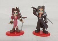 Final Fantasy VII 7 Coca Cola - Sephiroth & Aerith Figures