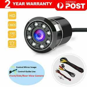 8LED Car Rear View Reverse Parking HD Camera Night Vision Cam Waterproof AU