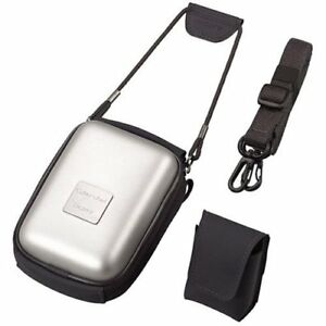 Sony LCM-WA Case for Cyber-Shot Digital Camera w/ Shoulder Strap + Mini Pouch