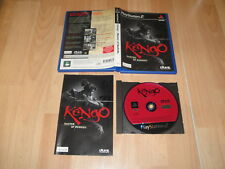 KENGO MASTER OF BUSHIDO DE LIGHT WEIGHT CO. PARA LA SONY PS2 USADO COMPLETO