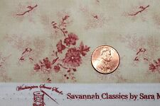 """SAVANNAH CLASSICS"" C.1865 QUILT FABRIC BTY WASHINGTON STREET STUDIO 00482-E"