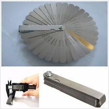 1 Set 32 Blade Feeler Gauge Metric Car Off-Road Dual Read Combination Meter Tool