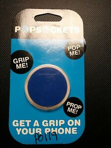 Mobile Phone Holder Solid Blue get a grip on your phone New *FREE SHIPPING*