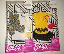 Barbie Clothes Lot Peanuts WOODSTOCK Yellow & Black Outfits FASHION PACK