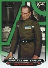 Star Wars Galactic Files Reborn Green Parallel Base Card ANH-14  Tarkin