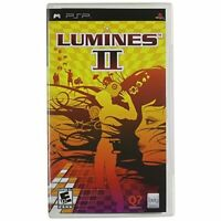 Lumines II Sony For PSP UMD Disney Puzzle Game Only 2E