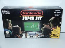 NINTENDO NES CONSOLE SUPER SET IN ORIGINAL BOX + EXTRA GAMES 1991 EUROPA-VERSION