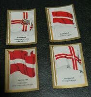 German Vintage Cigarettes Card Latvia Historical Flags of countries World WarI
