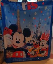 Plaid Polaire / Polar Fleece Throw 150 x 120 cm 100 Polyester Disneyland Paris