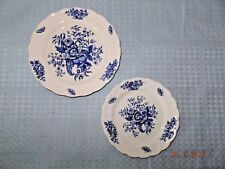 Booth's English Stoneware Peony Pair of Plates A8021