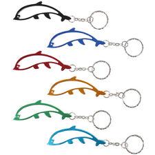 Dolphin Bottle Opener Keychain Aluminum Alloy Beer Opener Key Rings for GYJn$J9