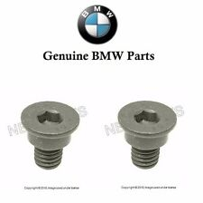 2 Genuine For BMW E36 E46 E82 E88 128i 318is Disc Brake Rotor Set Screw NEW