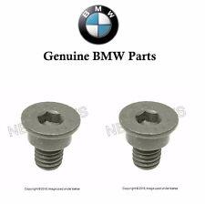 2 Genuine BMW E36 E46 E82 E88 128i 318is Disc Brake Rotor Set Screw 34211161806
