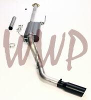"""3"""" Cat Back Exhaust System Black Tip 15-19 Ford F150 Ecoboost 2.7L 3.5L 5.0L V8"""