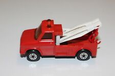 VTG Lesney Matchbox Superfast No. 61B Wreck Truck Red with White Boom