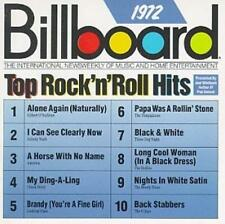 Billboard Top Rock & Roll Hits: 1972 by Various Artists RARE AND OUT OF PRINT!