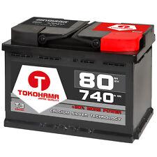 Autobatterie 80Ah +30% mehr Power Winner Starterbatterie ersetzt 70Ah 72Ah 74Ah