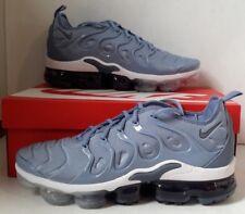 Nike Air Vapormax Plus Work Blue Cool Grey Diffused White Running Men 924453-402
