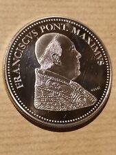 Une Pièce Monnaie Médaille  PAPE FRANCISCVS PONT Maximvs Habemvs Papam