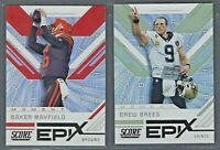 2019 Score Football EPIX MOMENT Insert Complete Your Set YOU PICK!
