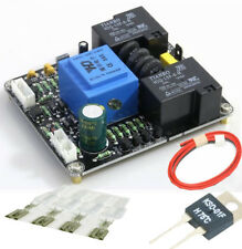 with switch function Class A soft start delay temperature protection board