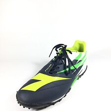 Diadora DD-NA 2 Men's Size 10 Green Lime Navy Blue White Soccer Cleats Athletic