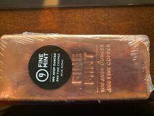 Copper Bar 100 Avdp Ounces, .999 Fine Copper - 9 Fine Mint