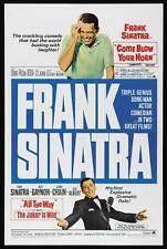 THE JOKER IS WILD Movie POSTER 27x40 Frank Sinatra Mitzi Gaynor Jeanne Crain