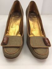 Vintage Ferragamo Made In Italy Shoes 9 Us