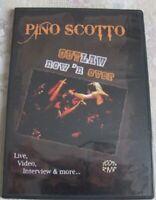 DVD Pino Scotto OUTLAW Now 'n ever  Live at Tartaruga -Villaguardia (CO) 2009
