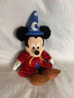 Walt Disney World Disneyland Magic Wizard Mickey Mouse Plush Stuffed Animal Toy