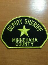 MINNEHAHA COUNTY PATCH SHERIFF POLICE SOUTH DAKOTA SD
