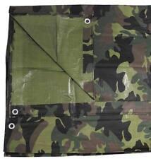 Suelo tienda Lona PE caza Camuflaje Woodland 1,8 x 2,85 cm Impermeable
