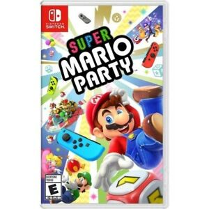 Super Mario Party - Nintendo Switch - In Excellent Condition!