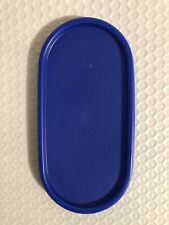 Tupperware Modular Mates Oval Seal Replacement Lid 1616 Sapphire Blue