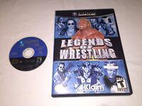 Legends of Wrestling (Nintendo GameCube) Original Release Game in Case Excellent