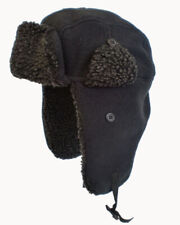 Adult Unisex Mens Insulated RockJock Faux Fur Winter Trapper Hat  / One Size