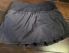 New listing Ivivva Lululemon Pleated/Ruffle Athletic Skirt Skort Black Size 10