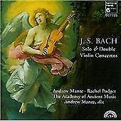 Johann Sebastian Bach : VIOLIN CONCERTOS CD (2000) Expertly Refurbished Product