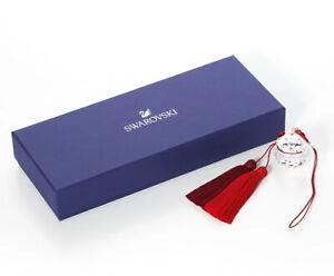 NEW Authentic SWAROVSKI Brand 5428642 Red White Lucky Cat Ornament