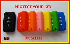 CITROEN REMOTE KEY C4 C5 C6 C8  FOB COVER 3 BUTTON CASE SILICONE WITH LIGHT