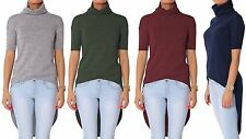 Women's Polyester No Pattern Fitted Tops & Shirts