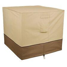 Classic Accessories Veranda Air Conditioner Cover, Square, Pebble, SQUARE