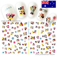 MICKEY & MINNIE mouse 3D nail art sticker decal disney hearts pink cute couple