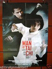 "Man of Tai Chi {Keanu Reeves} 40""X27"" Original Folded Movie Poster 2013"